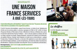 Une maison France services à Joué-lès-Tours